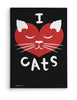 Canvas - I ♥ Cats  - 2