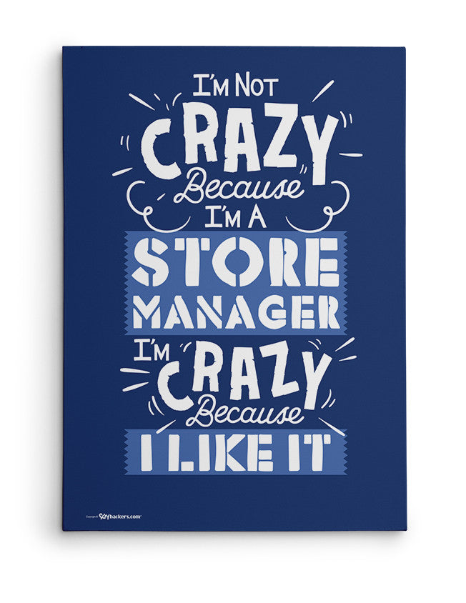 Canvas - I'm Not Crazy Because I'm...  - 2