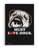 Canvas - Must Love Dogs  - 2