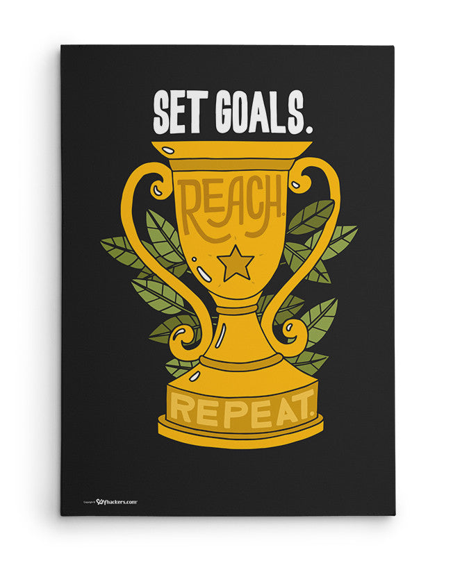 Canvas - Set goals. Reach. Repeat.  - 2