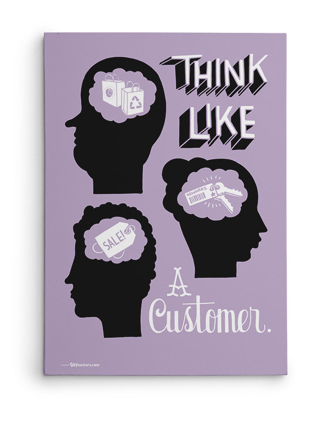 Canvas - Think like a customer.  - 2