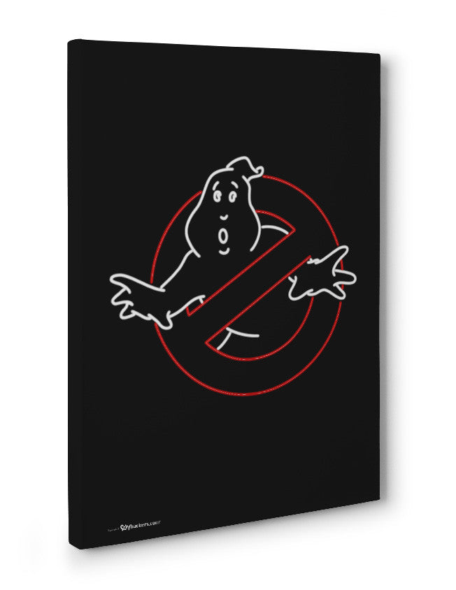 Canvas - Neon Ghostbusters  - 3