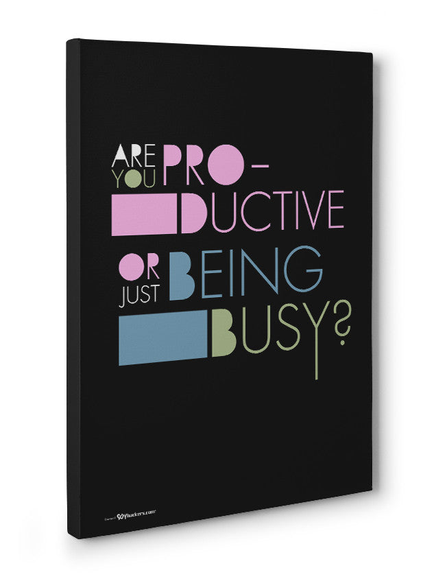 Canvas - Are you productive or just being busy?  - 3