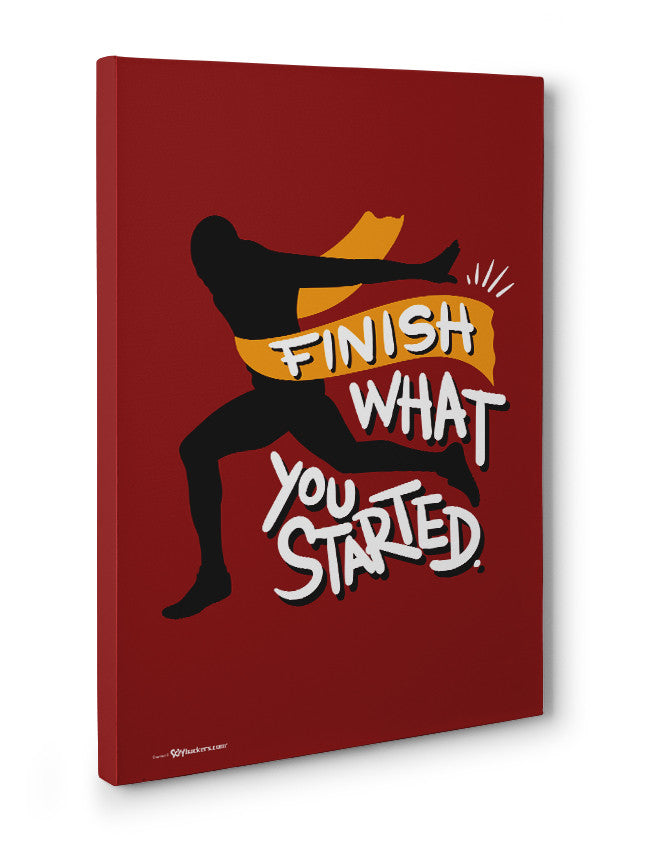 Canvas - Finish what you started.  - 3