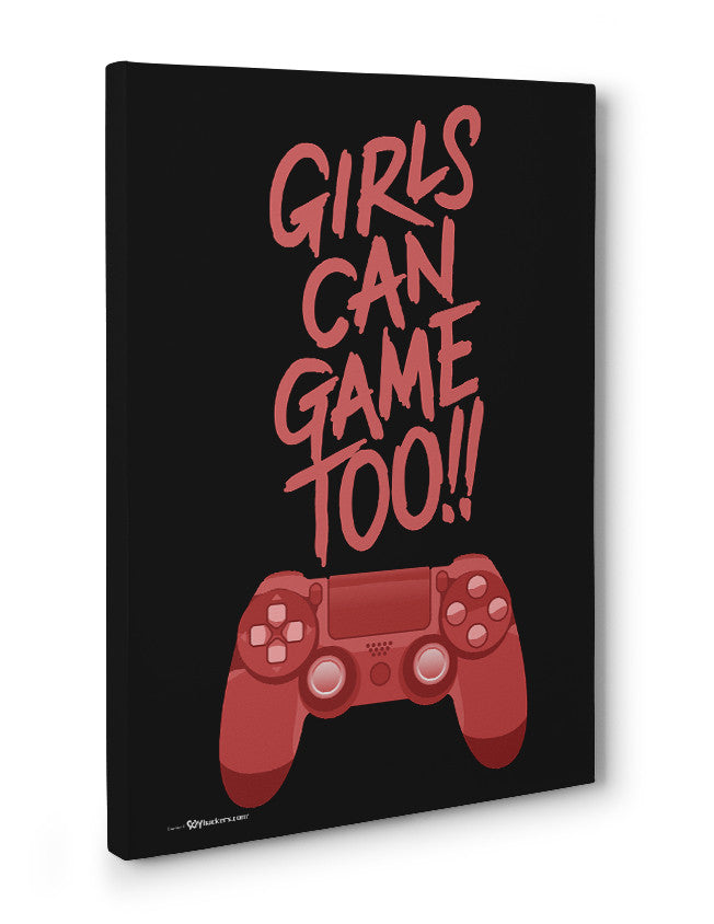 Canvas - Girls Can Game Too!!  - 3