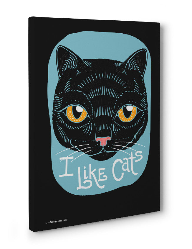 Canvas - I Like Cats  - 3