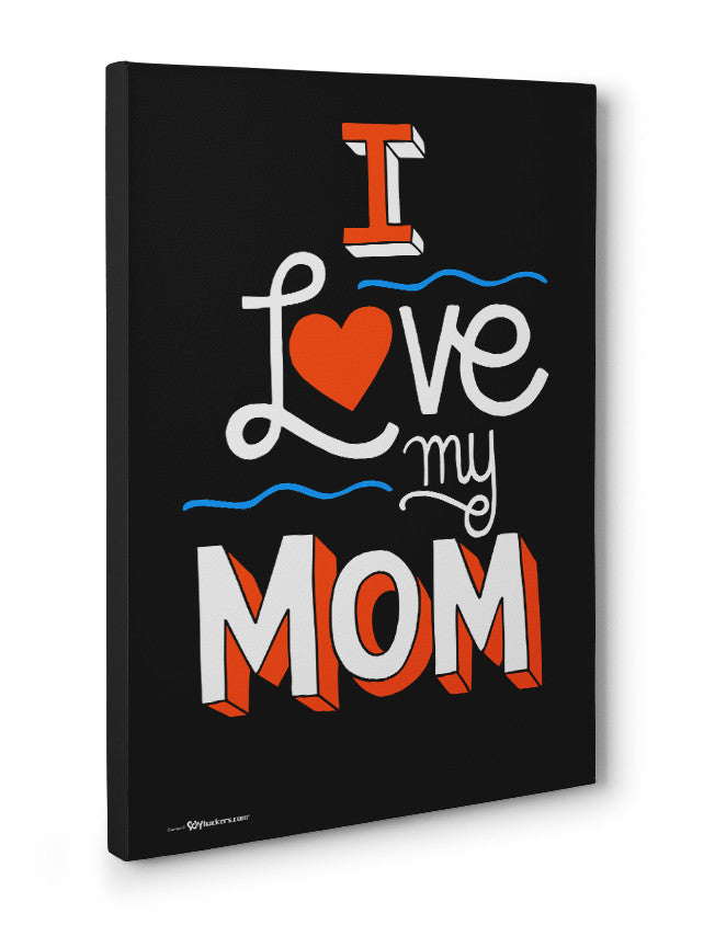 Canvas - I Love My Mom  - 3