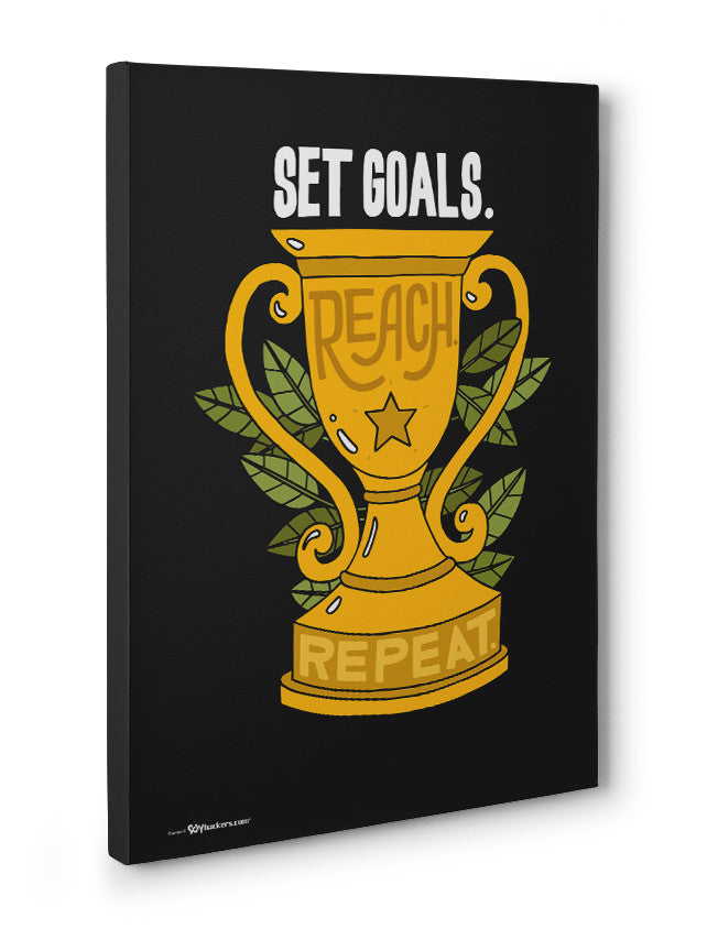 Canvas - Set goals. Reach. Repeat.  - 3