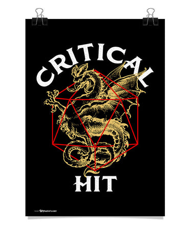 Poster - Critical Hit  - 1