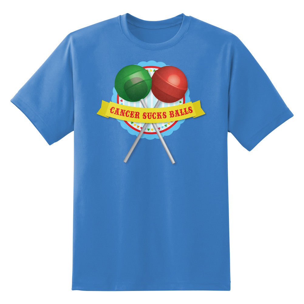 Cancer Sucks Balls Men's Unisex T-Shirt by Sexy Hackers
