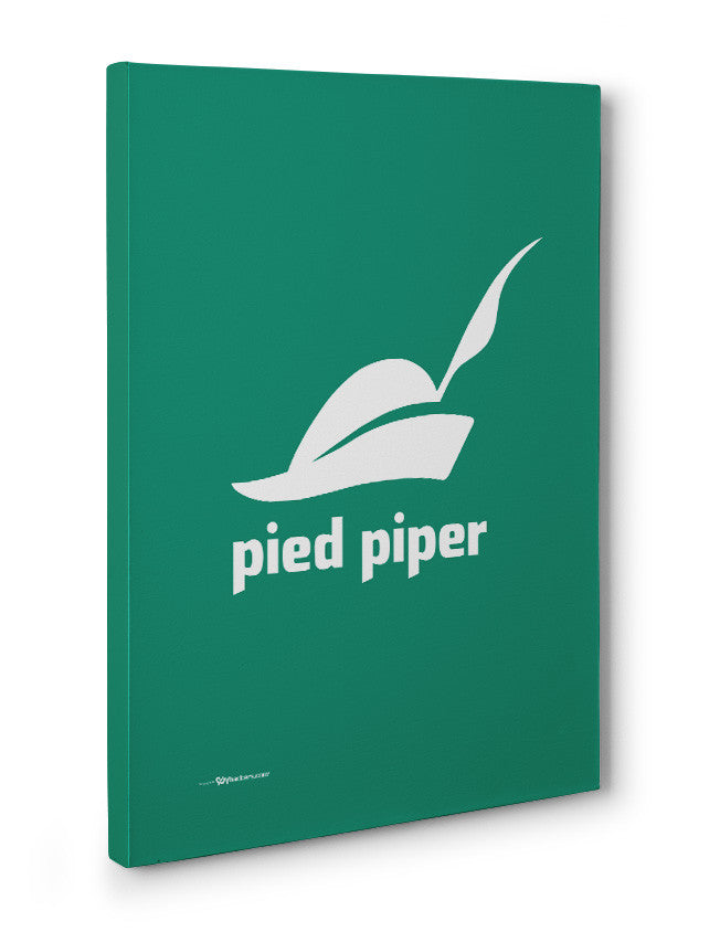 Canvas - Pied Piper Logo Canvas from the TV Series Silicon Valley on HBO  - 3