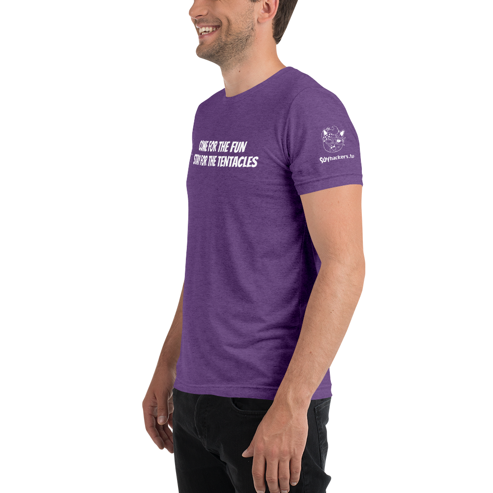STAY FOR THE TENTACLES - Twitch sxyHACKERS Shirt