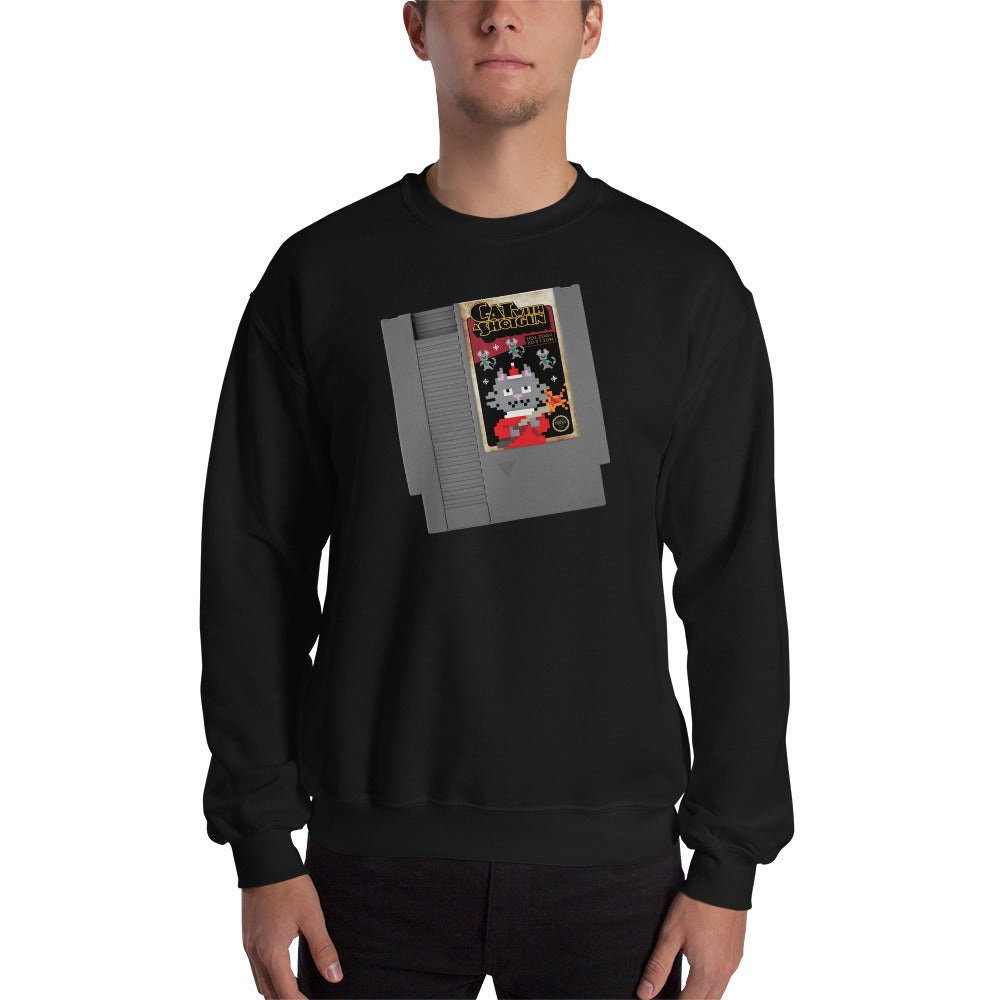 Cat With A Shotgun: Holiday Edition Unisex Sweatshirts