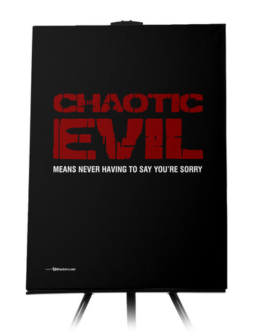 Chaotic Evil Canvas
