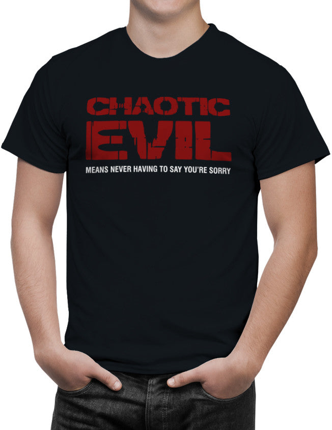 Chaotic Evil Alignment Unisex T-Shirt