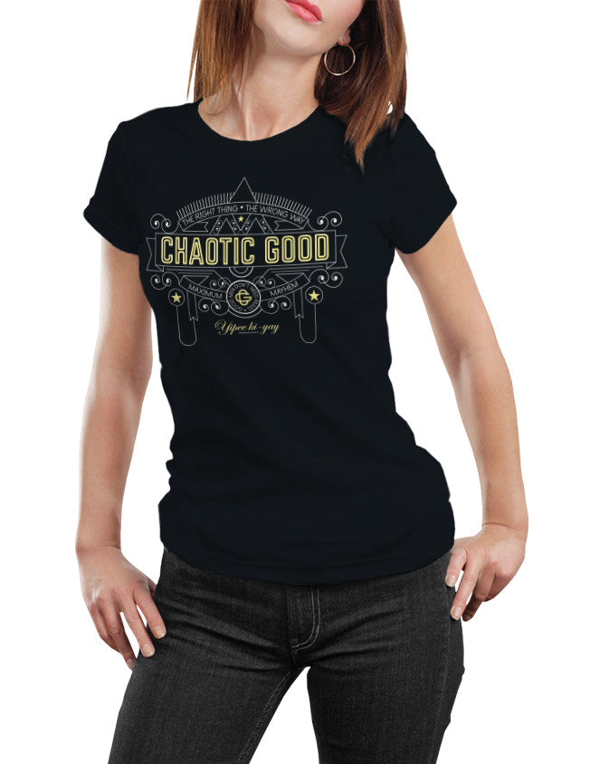Chaotic Good Alignment  Unisex T-Shirt by Sexy Hackers