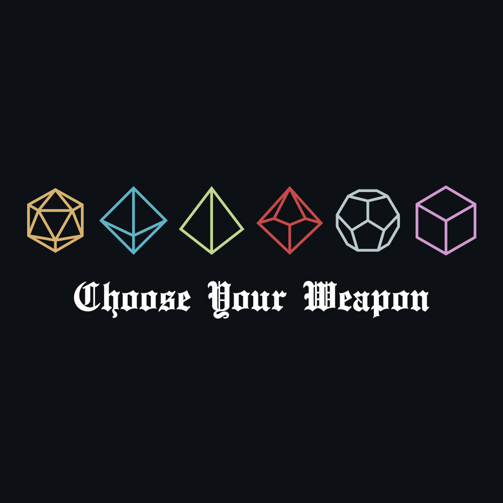 D&D Choose Men's Unisex T-Shirt by Sexy Hackers