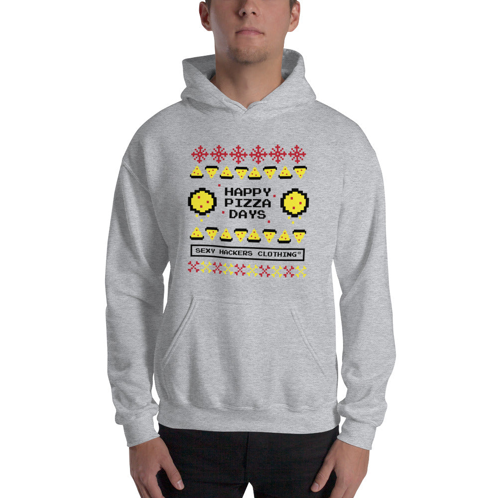 Christmas Pizza Unisex Hoodies