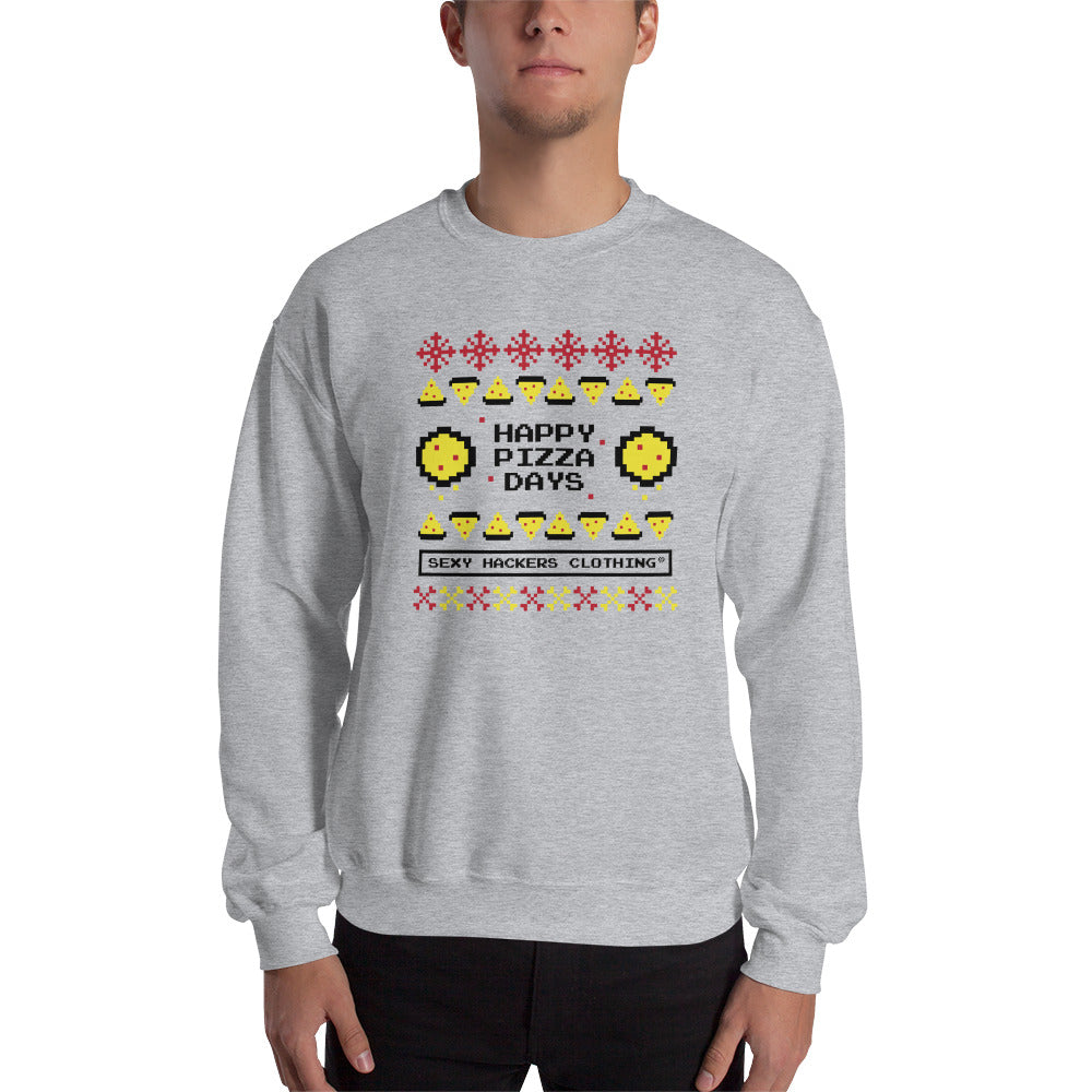 Christmas Pizza Unisex Sweatshirts