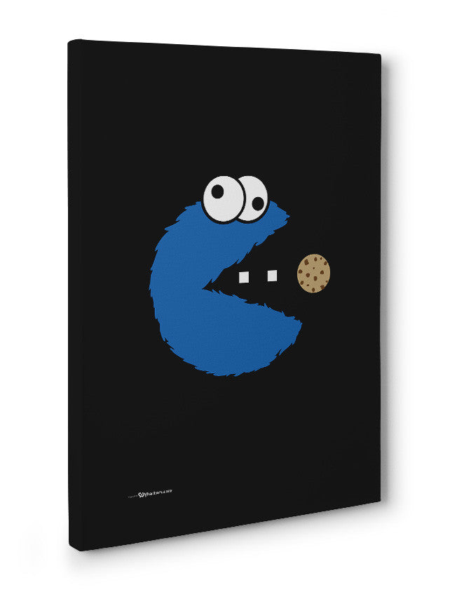 Canvas - Om Nom Nom Nom Cookie Monster Version  - 3