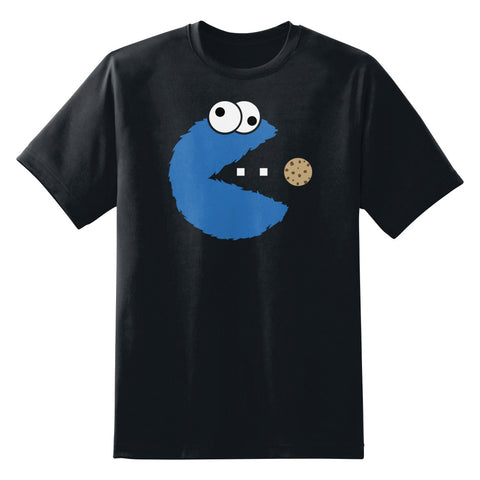 Cookie Monster Pac-Man Unisex T-Shirt