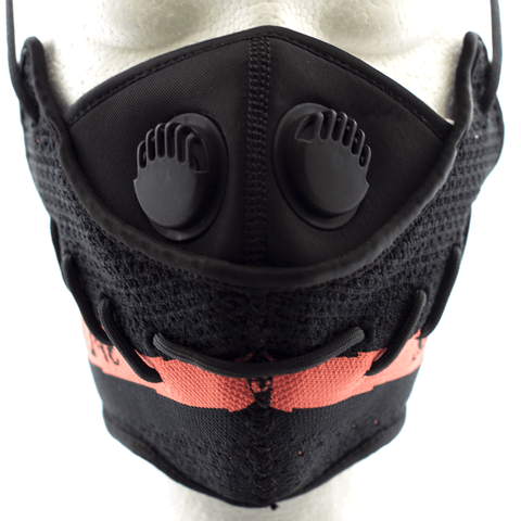 Adidas Boost 350 V2  Core Black Red - Face Mask