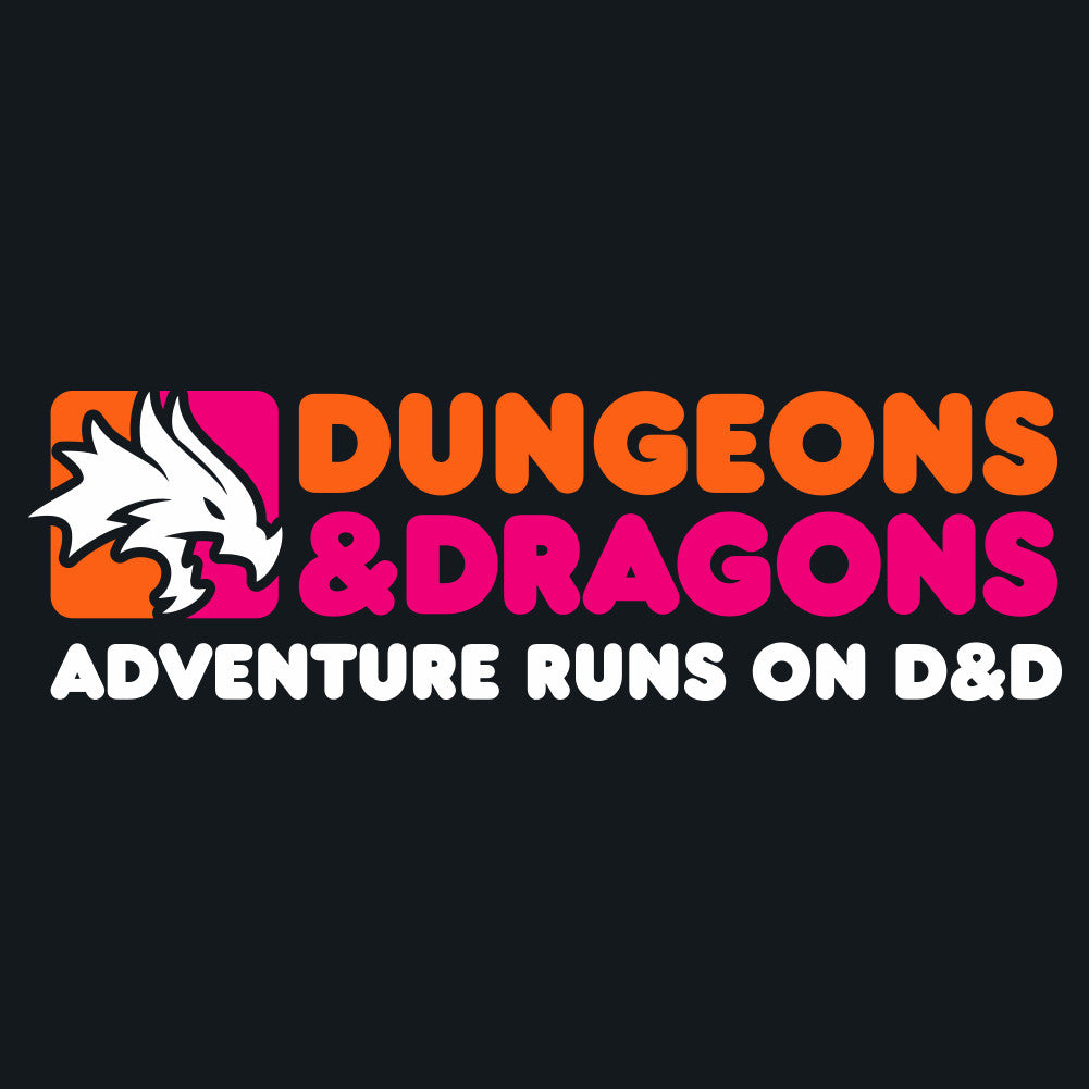 Dunkin' Dungeons & Dragons Men's Unisex Hoodie by Sexy Hackers