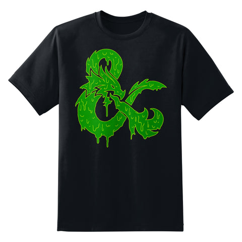D&D Ooze Logo Men's Unisex T-Shirt by Sexy Hackers