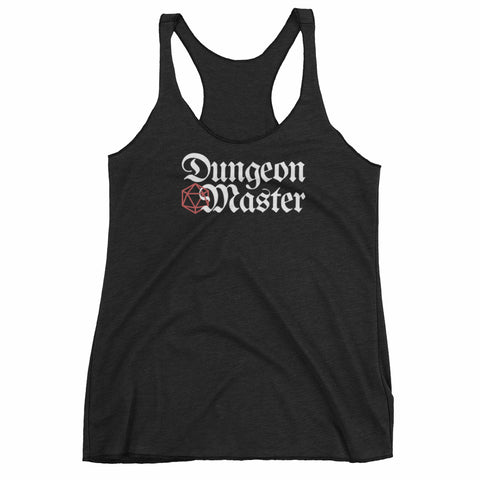 D&D Dungeon Master Ladies' Racerback Tank