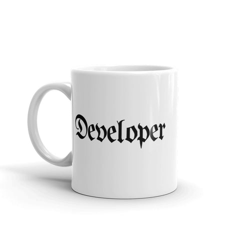 Developer Coffee Mug