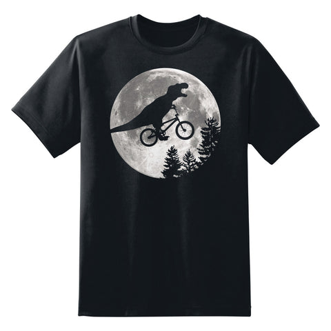Dinosaur ET Moon Bike Unisex T-Shirt