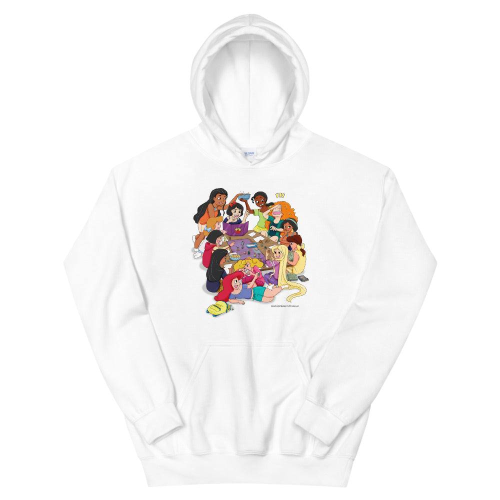 Disney Princesses and DND Unisex Hoodies