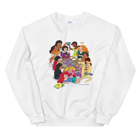 Disney Princesses and DND Unisex Sweatshirts