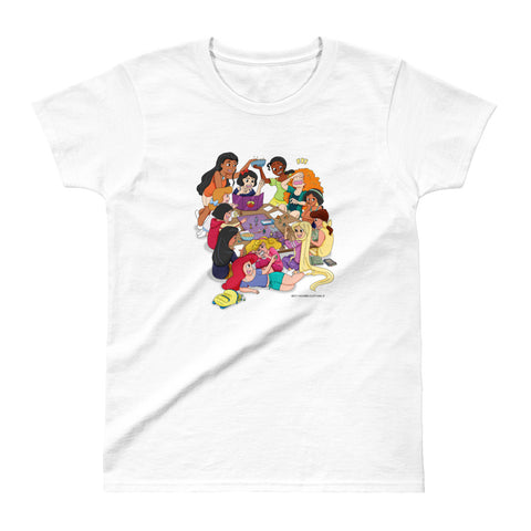 Disney Princesses and DND Ladies Ultra Cotton T-shirt