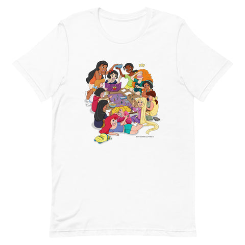 Disney Princesses and DND Unisex T-shirt