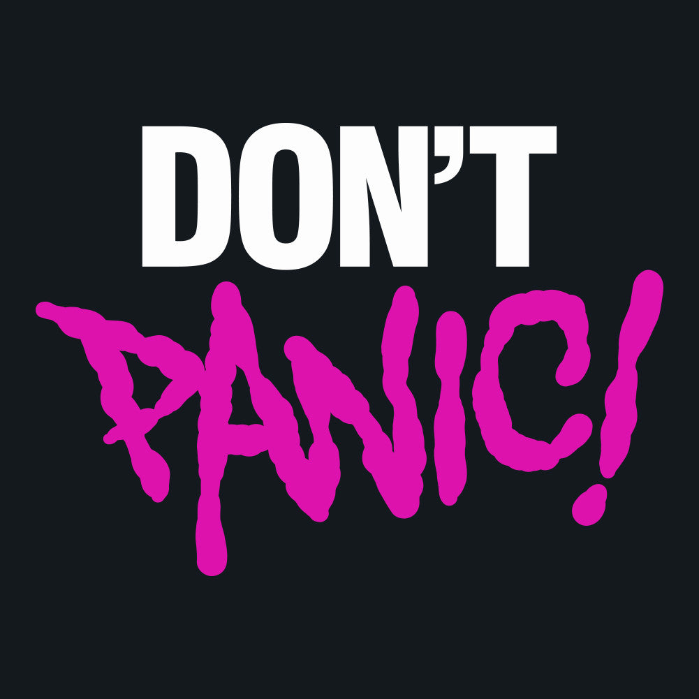 Don't Panic Men's Unisex T-Shirt