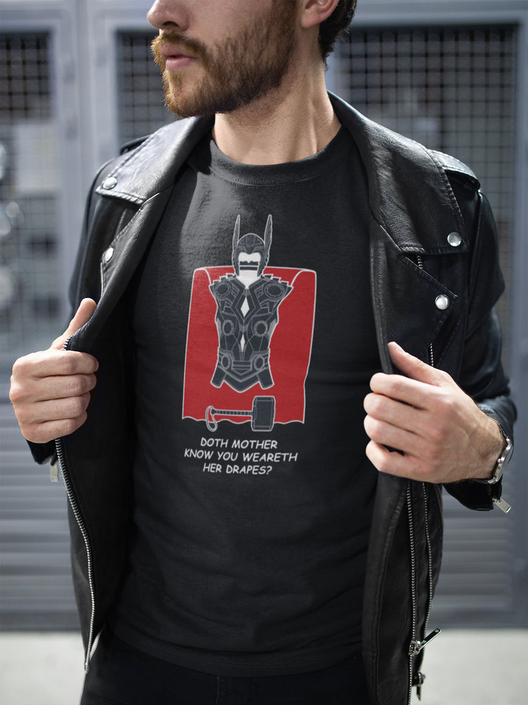 Avengers Doth Mother Know Unisex T-Shirt by Sexy Hackers
