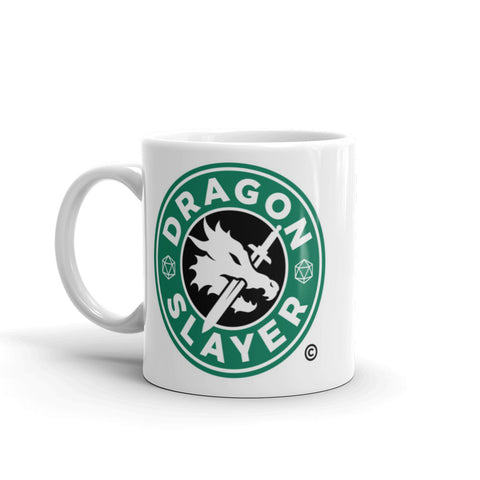 RPG Dragons Starbucks SexyhackersTV Coffee Mug