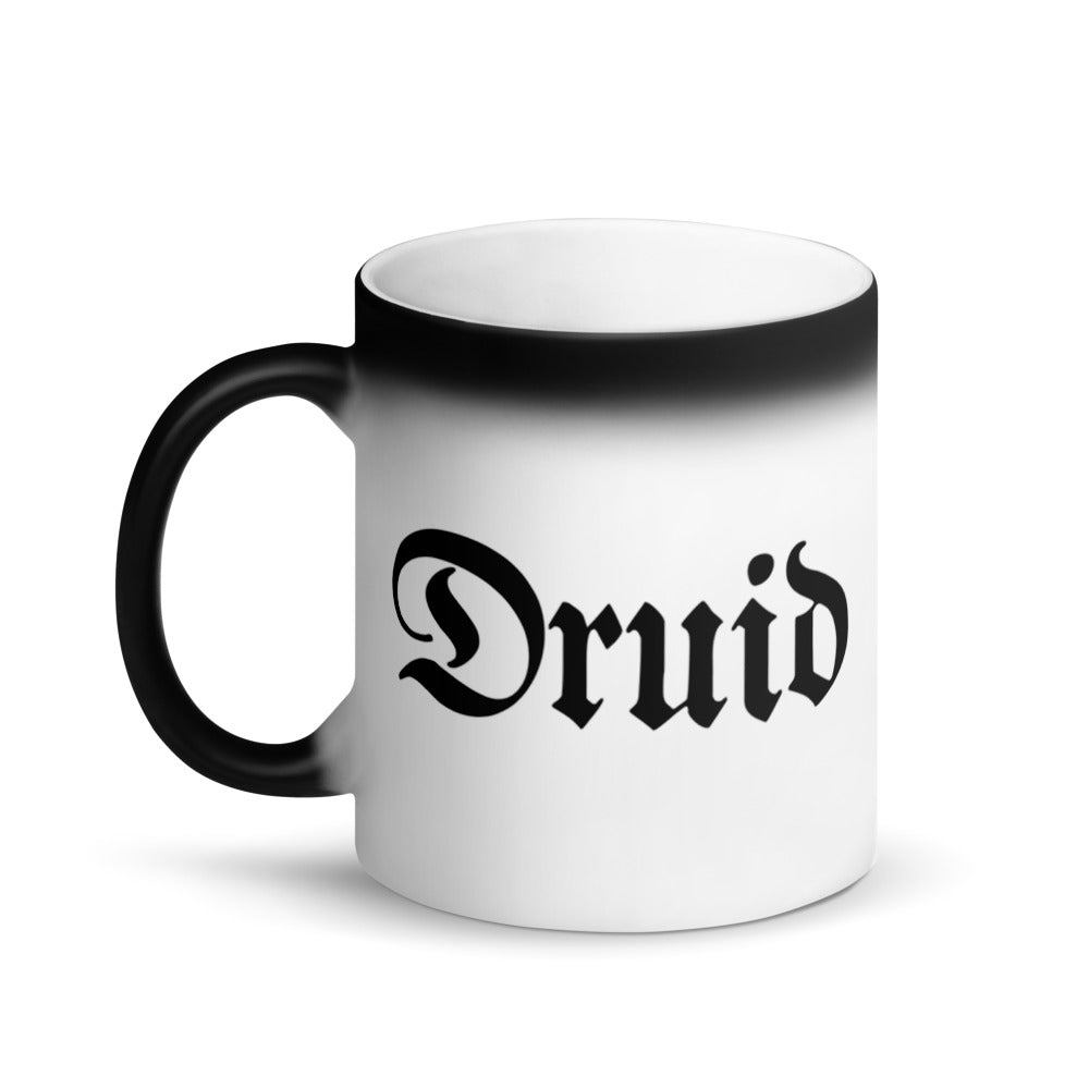 Druid RPG Character Class Color-Changing Coffee Mug