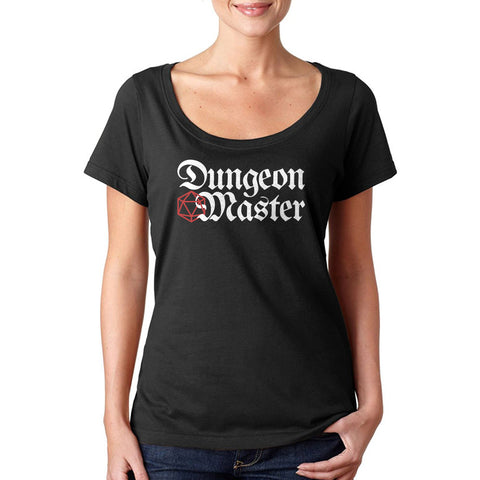 D&D Dungeon Master Ladies' Sheer Scoopneck T-Shirt