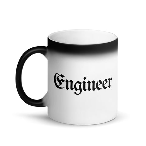 Engineer Color-Changing Coffee Mug