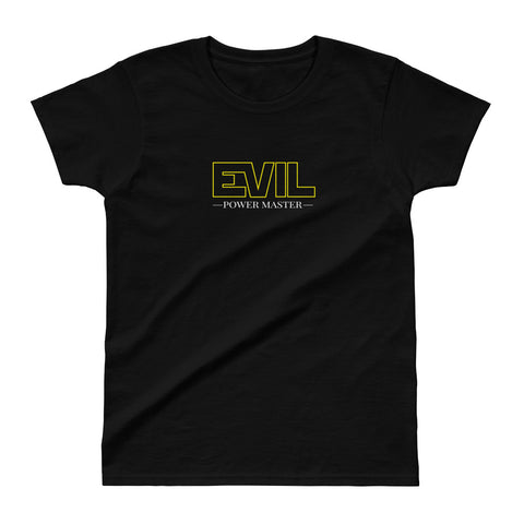 Evil Power Master Ladies Ultra Cotton T-shirt