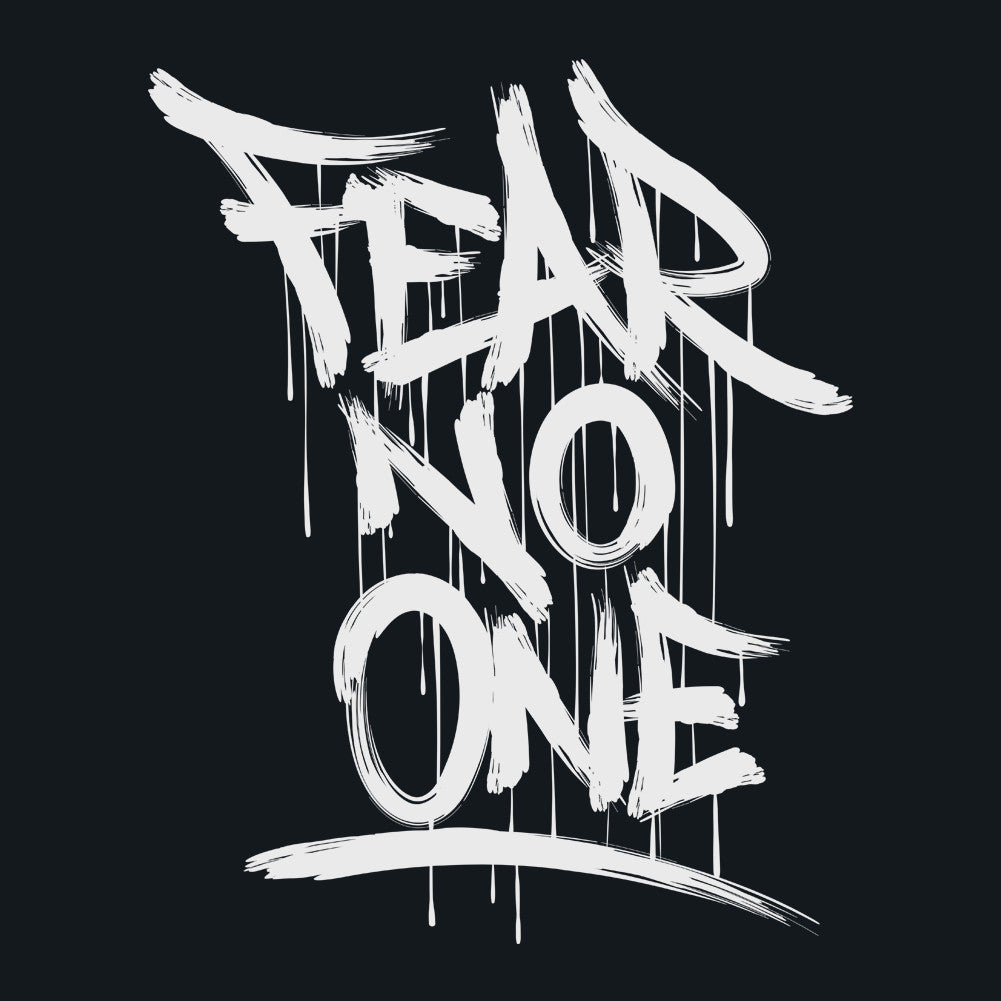 Fear No One Men's Unisex T-Shirt by Sexy Hackers