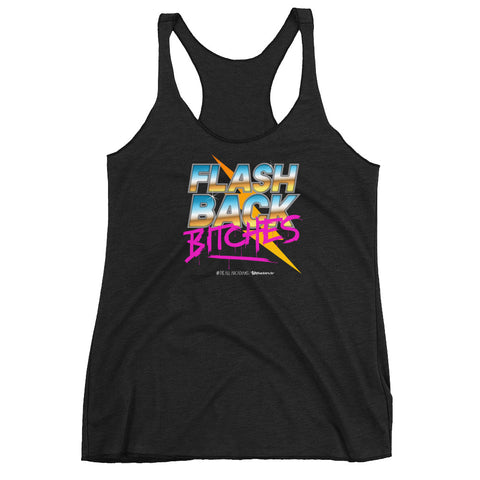 Flashback Bitches Women's Racer-back Tank-top
