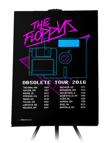 Canvas - The Floppys Obsolete Tour  - 1