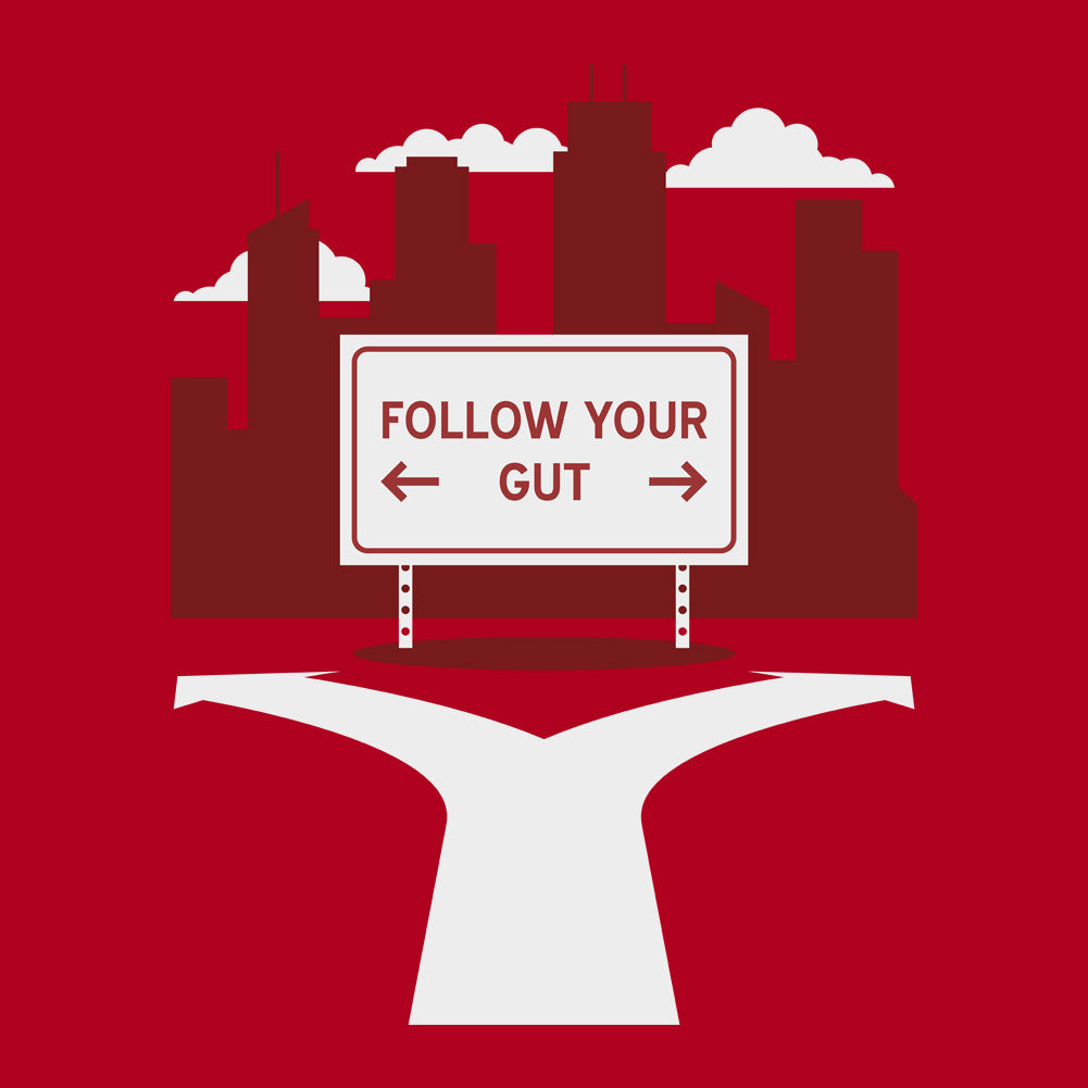 Follow Your Gut Unisex T-Shirt