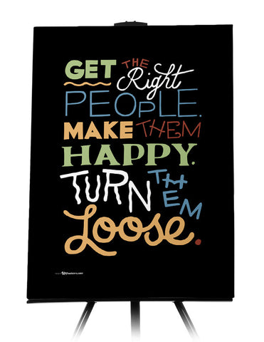 Canvas - Get the Right People. Make Them Happy. Turn Them Loose.  - 1
