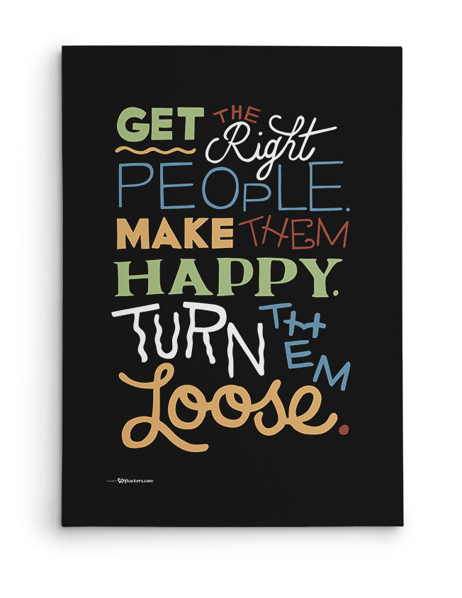 Canvas - Get the Right People. Make Them Happy. Turn Them Loose.  - 2