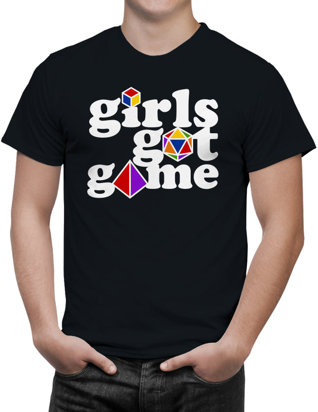 Girls Got Game Unisex T-Shirt by Sexy Hackers