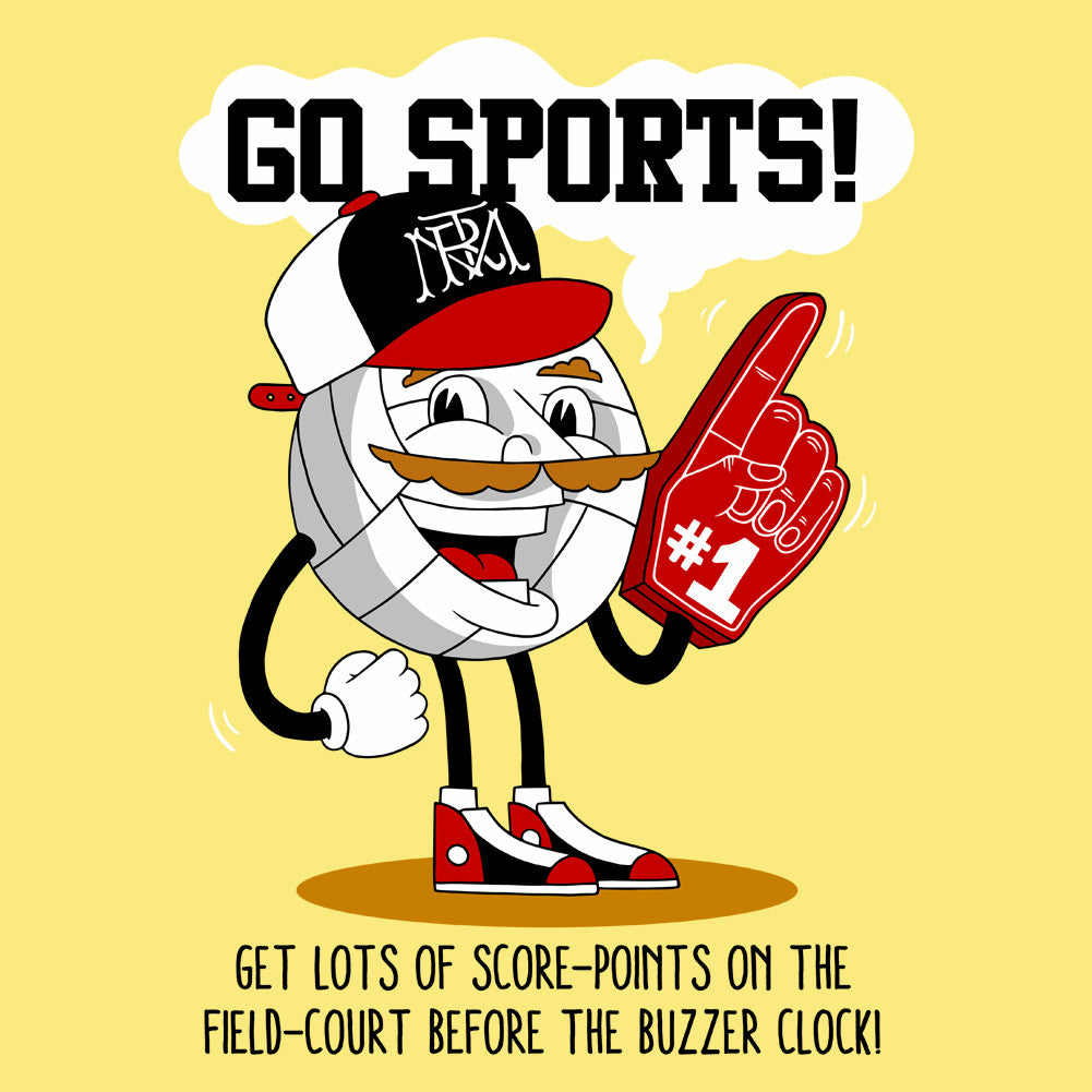 Go Sports Unisex T-Shirt by Sexy Hackers